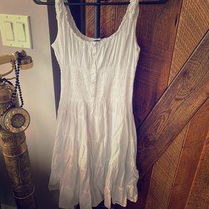 Pretty white summer dress